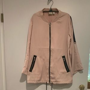 Chico's Pale Pink Jacket - Adjustable Sleeves